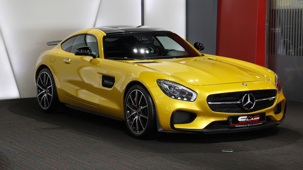 MERCEDES BENZ AMG GTs Edition 1