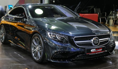 MERCEDES-BENZ S 63 AMG Coupe With Brabus Kit