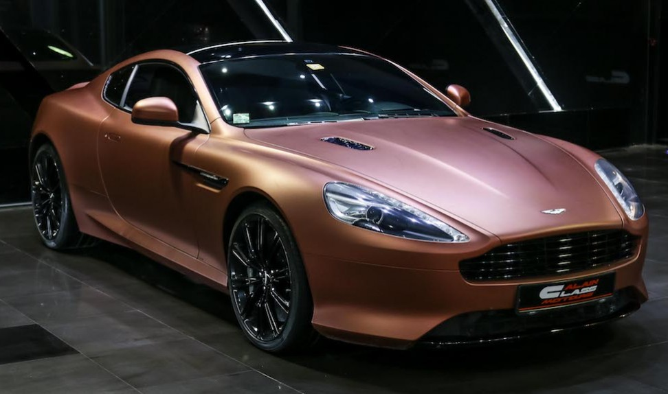 ASTON MARTIN DB9 Virage