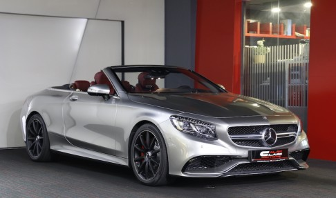MERCEDES-BENZ S63 – Convertible Edition 130