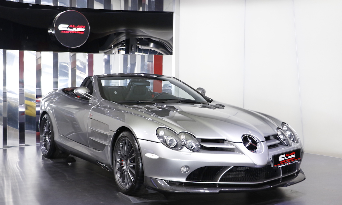 Mercedes-Benz SLR McLaren 722s Roadster – 1 of 150