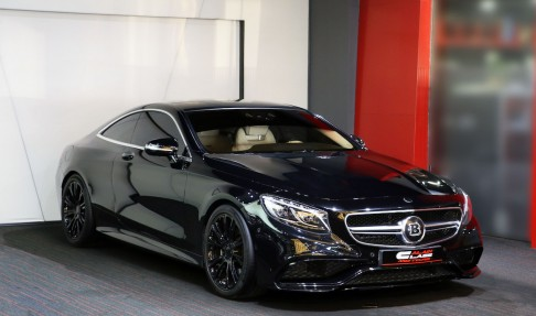 MERCEDES-BENZ S63 AMG Coupe – Brabus