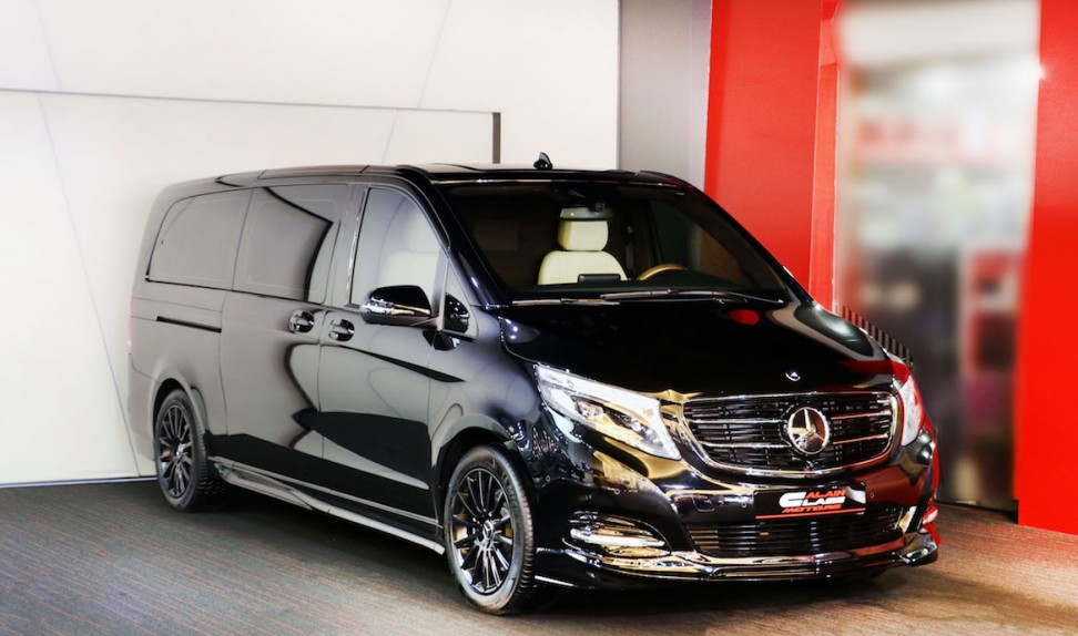 V-Class – by DIZAYN VIP- with  Wheelchair Lift