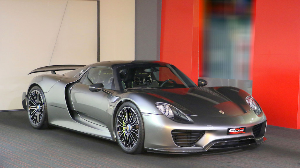 Porsche 918 Spyder – Weissach Package