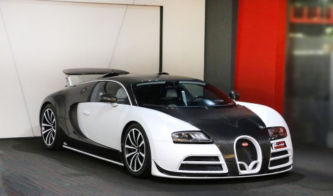 BUGATTI Veyron Linea Vivere – MANSORY