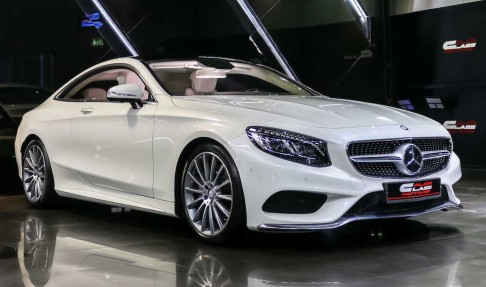 MERCEDES-BENZ S500 Coupe 4 Matic