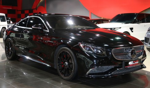 MERCEDES-BENZ S500 Coupe – with  S65 Kit