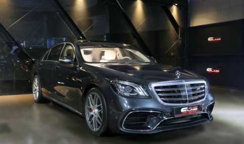MERCEDES-BENZ S63 V8 Biturbo 4MATIC+