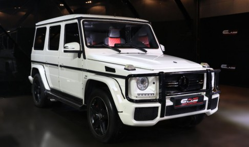 MERCEDES-BENZ G63 – With Brabus Suspension