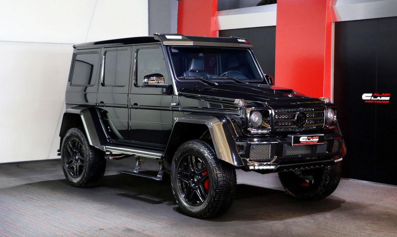 Mercedes-Benz  G500 4×4² – Brabus