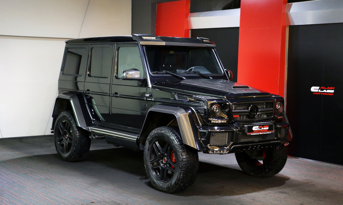 MERCEDES BENZ G500 4×4² – Brabus 700 Kit