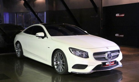 MERCEDES-BENZ S 500 Coupe – Edition 1