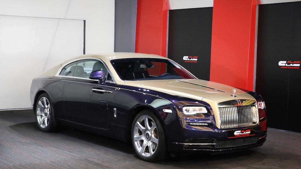 Alain Class Motors Rolls Royce Wraith Three Decades Of