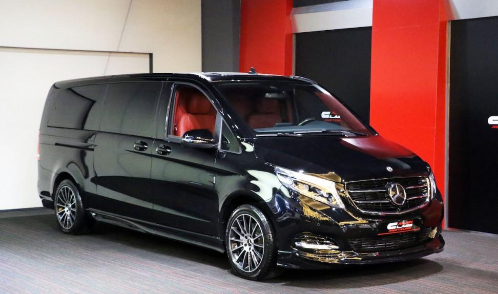 Mercedes-Benz V250 by DIZAYN VIP  ( Red/Black )
