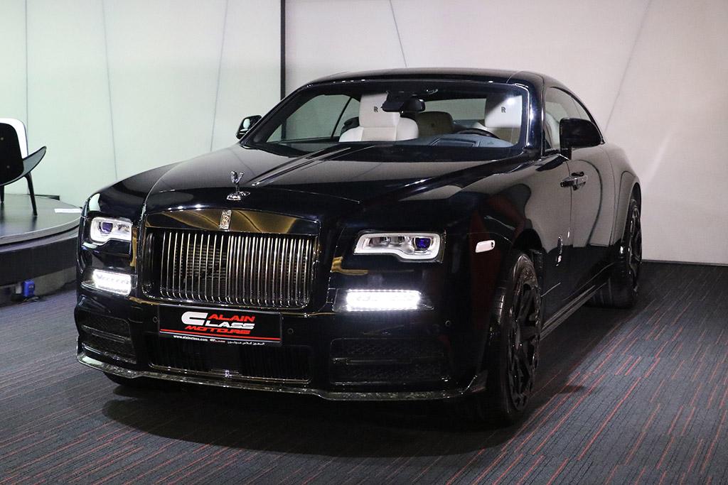 Alain Class Motors Rolls Royce Wraith Black Badge With Mansory Kit
