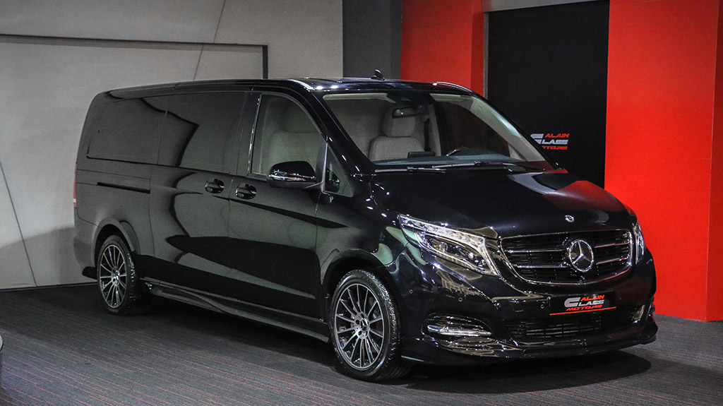 Alain Class Motors | Mercedes-Benz V250 - White/Carbon Fiber
