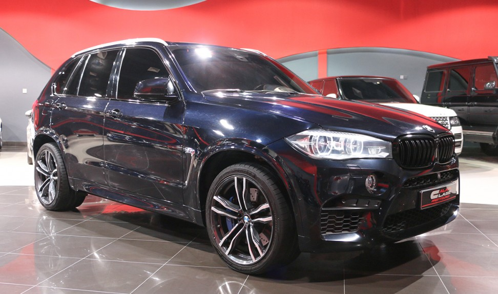 BMW X5 M 2016 – Under Warranty & Service Contract