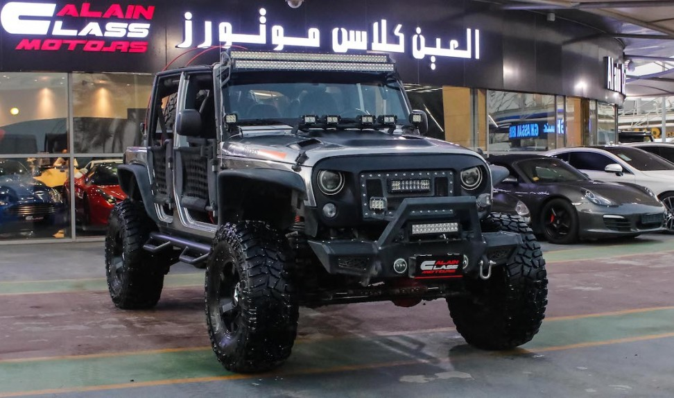 Jeep Wrangler (Jeepers Edition)