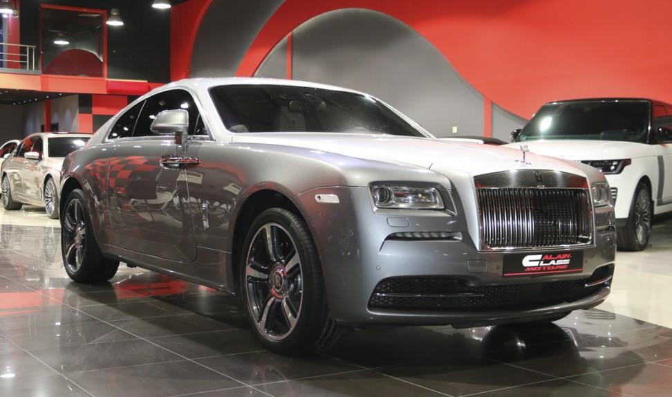 Rolls Royce Wraith Inspired By Film Edition