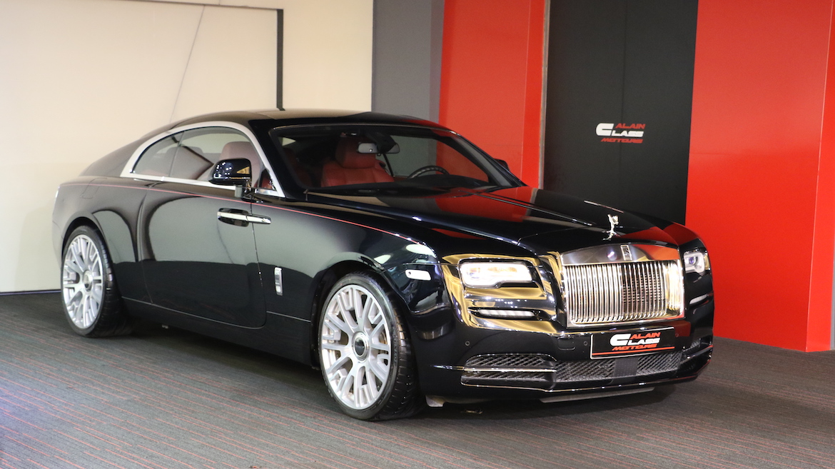 Rolls Royce Wraith with Mansory Wheels