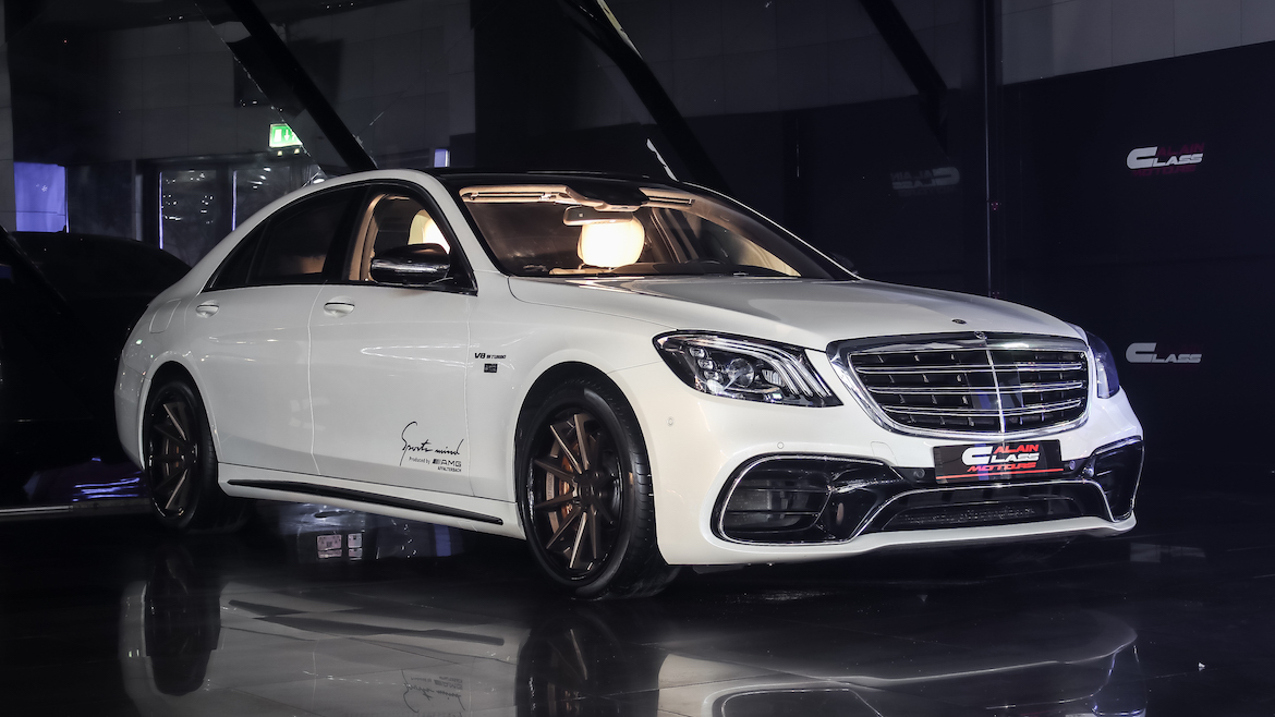 Mercedes S63 AMG Special Edition
