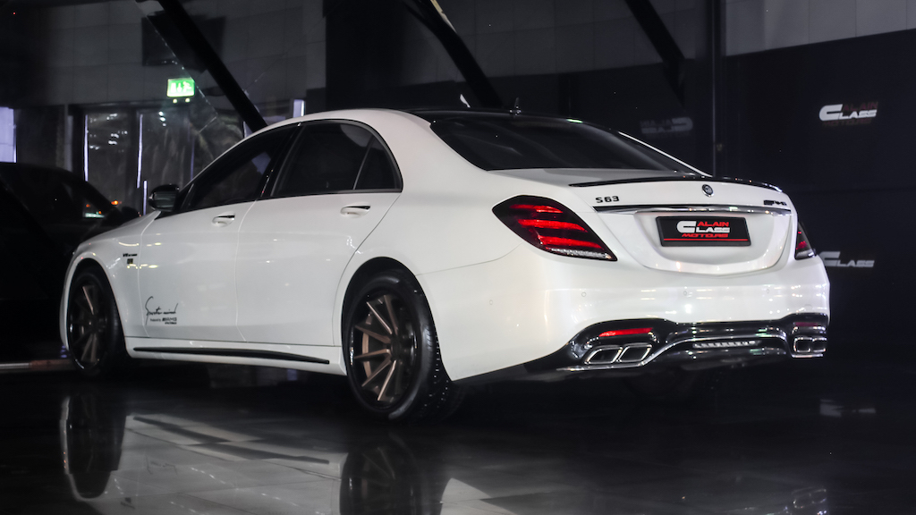 Alain Class Motors | Mercedes S63 AMG Special Edition