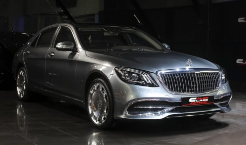 Mercedes-Benz S560 with Maybach Kit