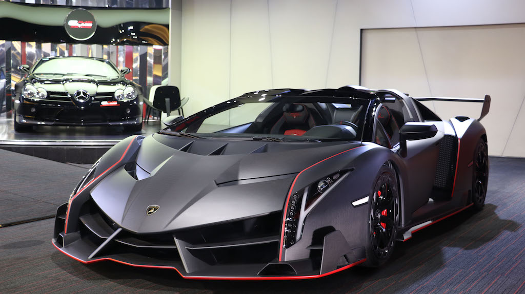 Alain Class Motors Lamborghini Veneno Roadster 1 Of 9