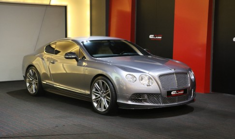 Bentley Continental GT W12 Speed