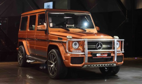 Mercedes-Benz G63 AMG with Brabus Exhaust