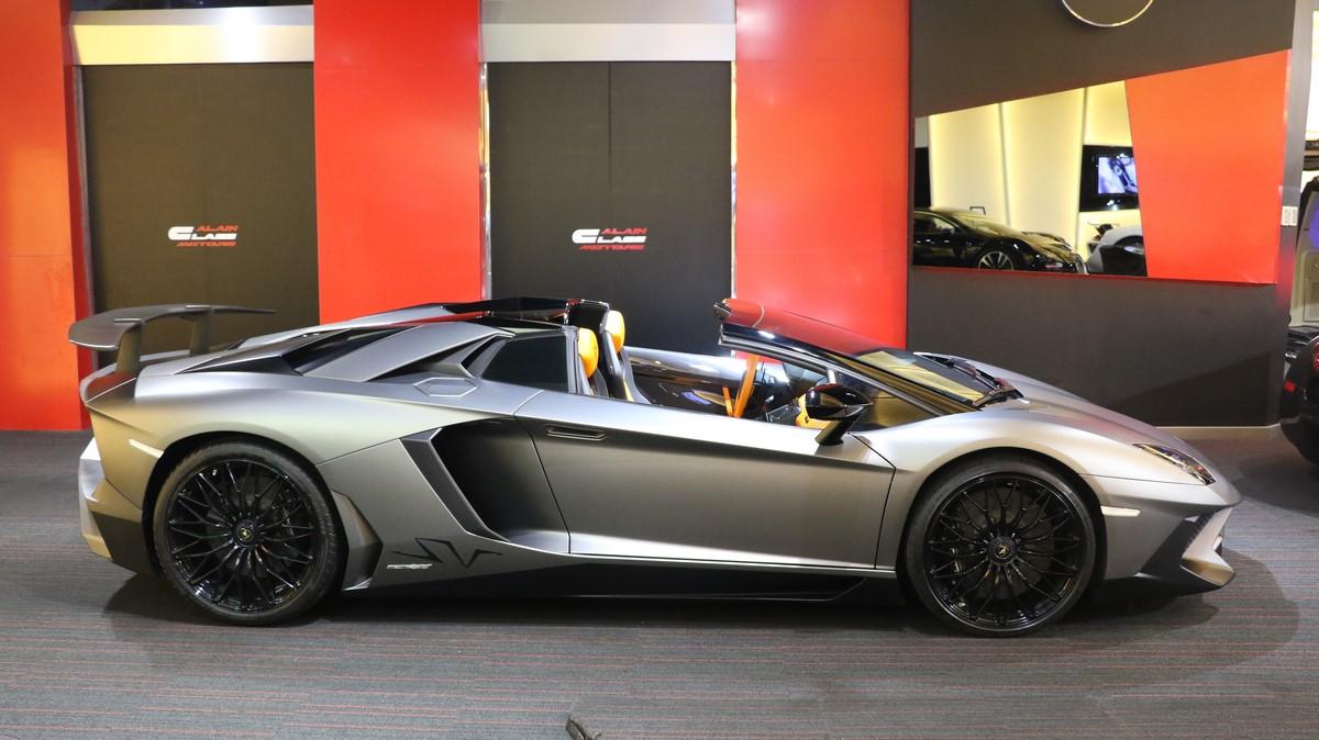 Alain Class Motors Lamborghini Aventador Sv Roadster 1 Of 500