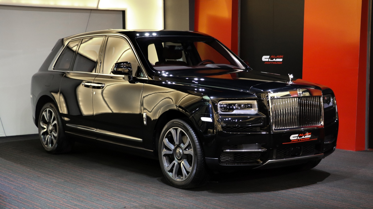 Alain Class Motors Rolls Royce Cullinan