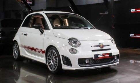 Fiat 500 with Abarth Body Kit