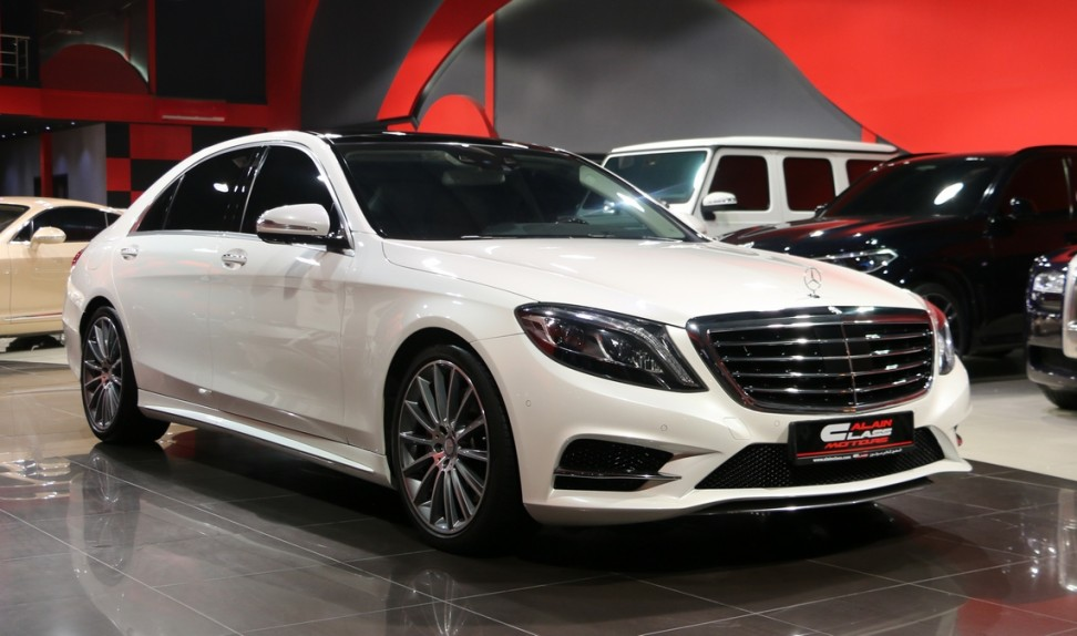 Mercedes-Benz S400 with S500 Kit