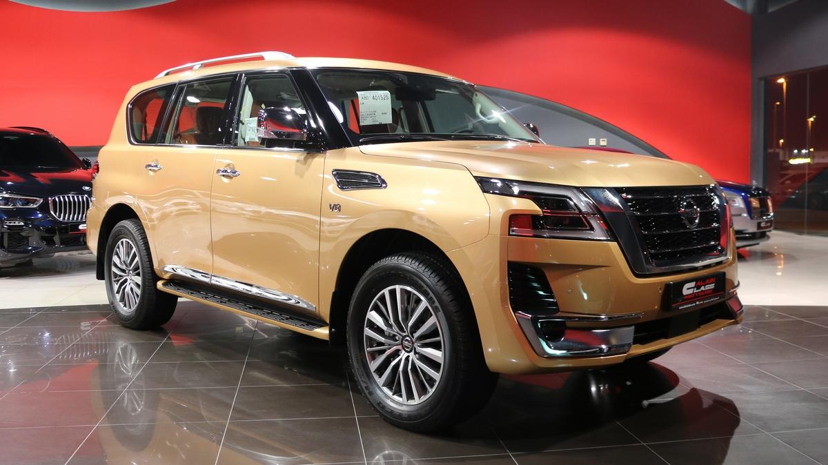 Alain Class Motors   Nissan Patrol LE Platinum