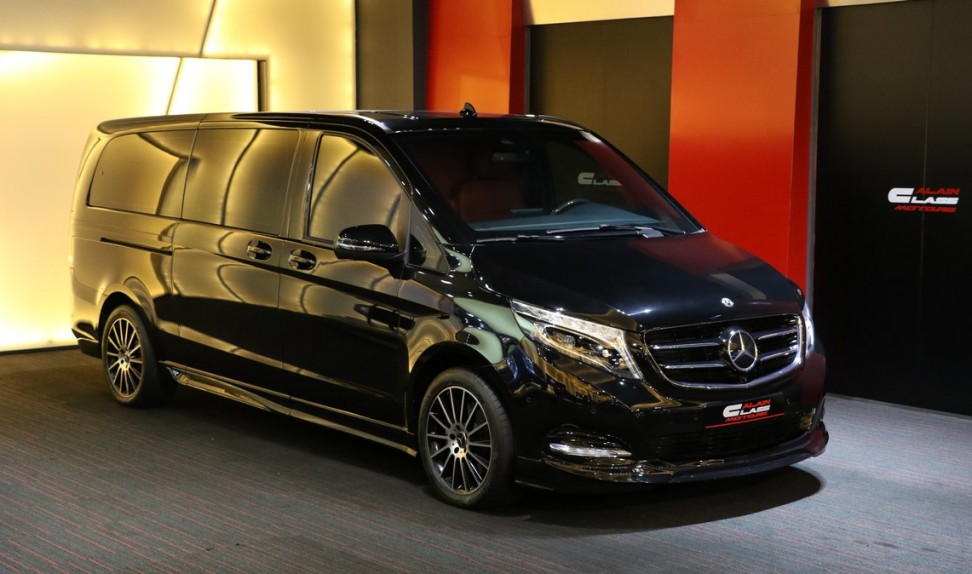 Mercedes-Benz V250 By Dizayn VIP (Red | Red Carbon)