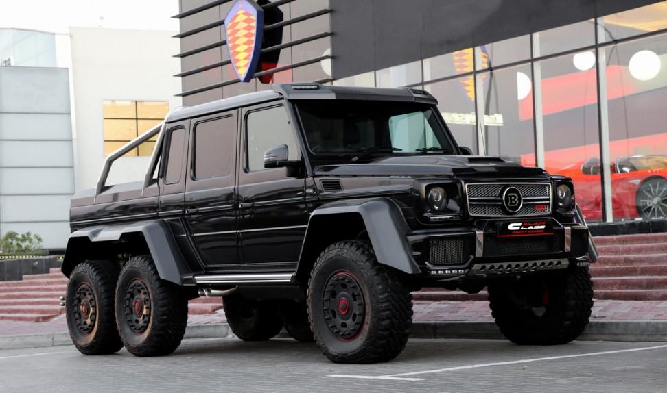 Mercedes-Benz G700 Brabus 6×6