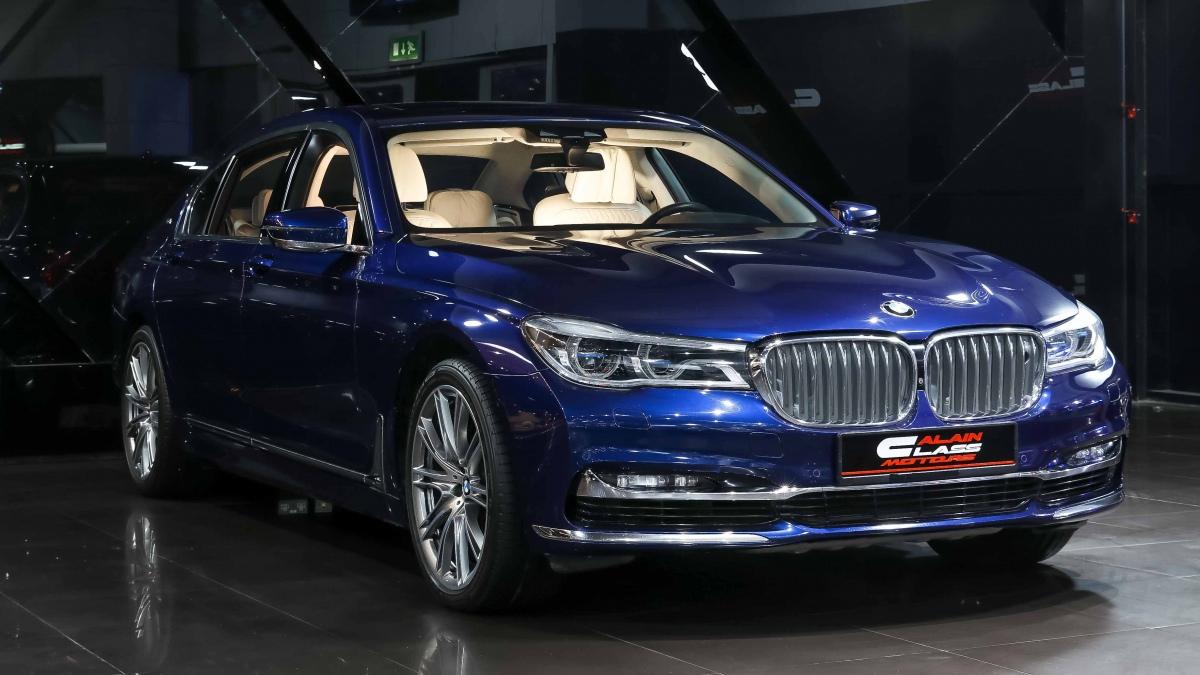 BMW 760Li XDrive V12
