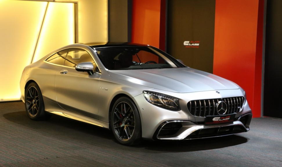 Mercedes-Benz S63 Coupe 4Matic+