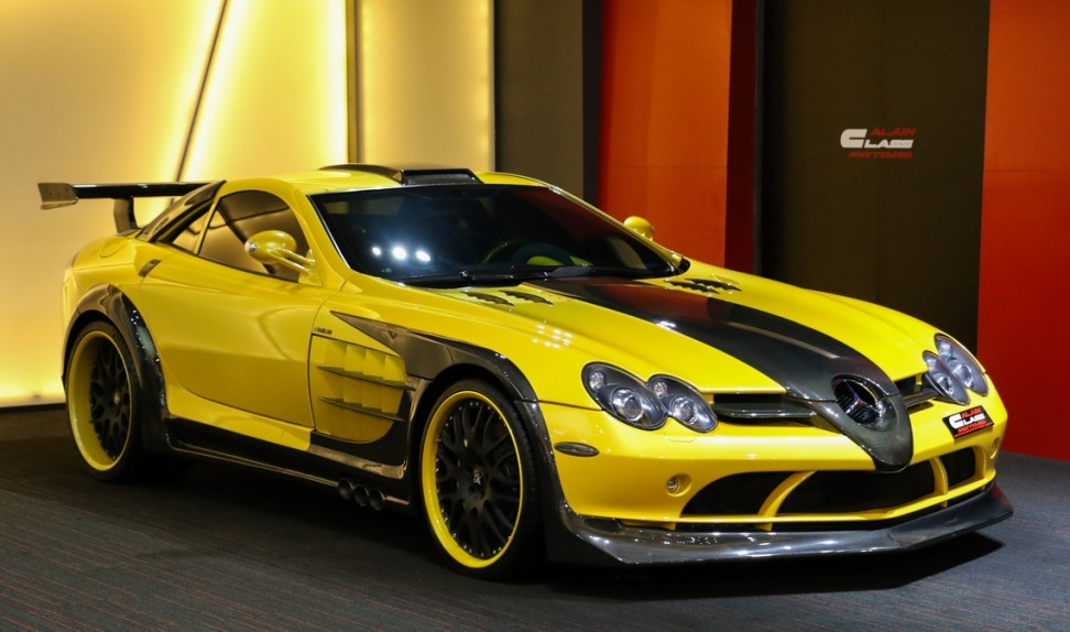 Mercedes-Benz SLR McLaren Hamann Kit Volcano – 1 of 1