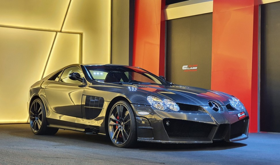 Mercedes-Benz SLR Renovatio By Mansory – Limited Edition