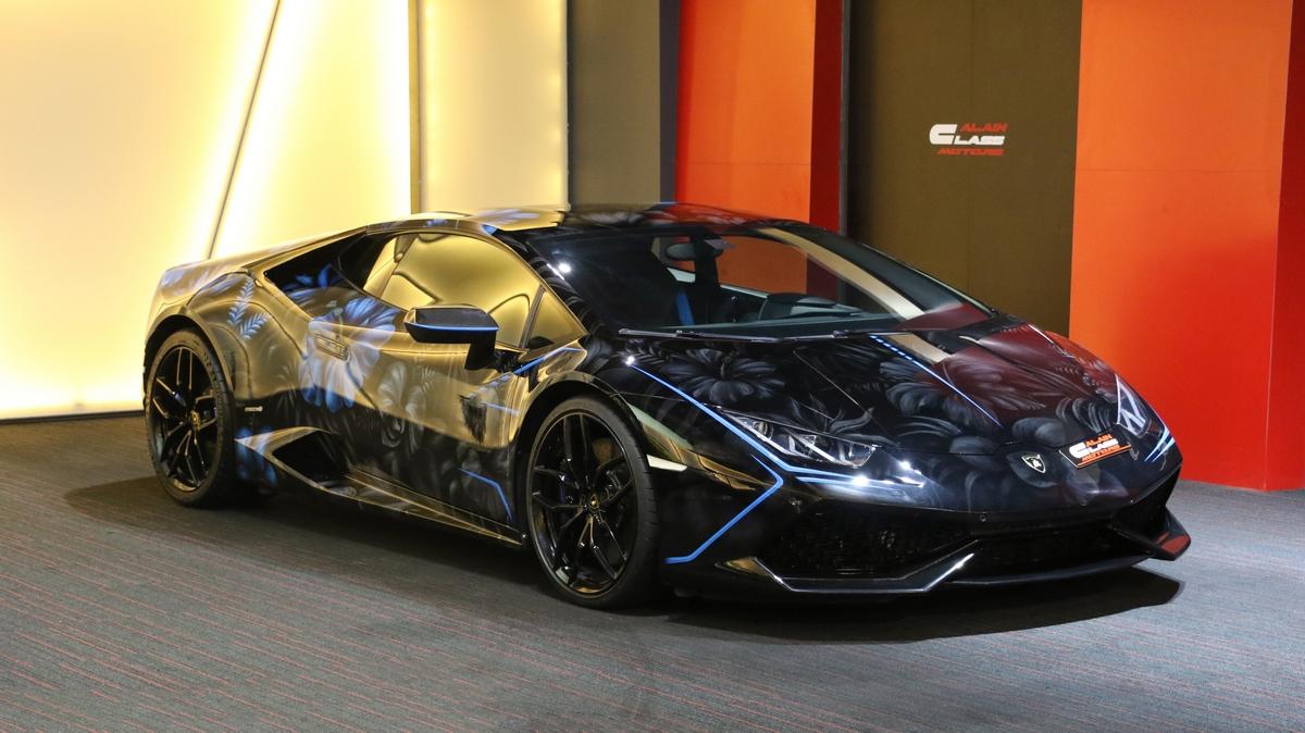 Lamborghini Huracan – Supercar Blondie's Huracan Lucy