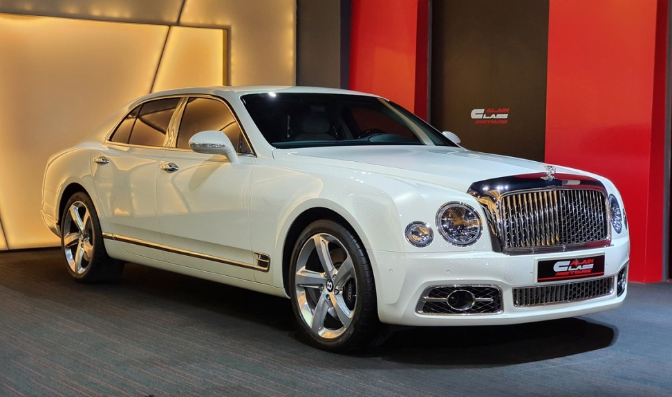 Bentley Mulsanne Speed Mulliner