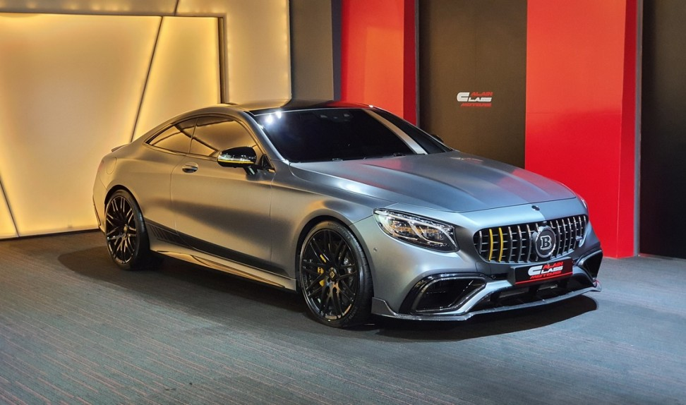 Mercedes-Benz S63 Coupe Brabus