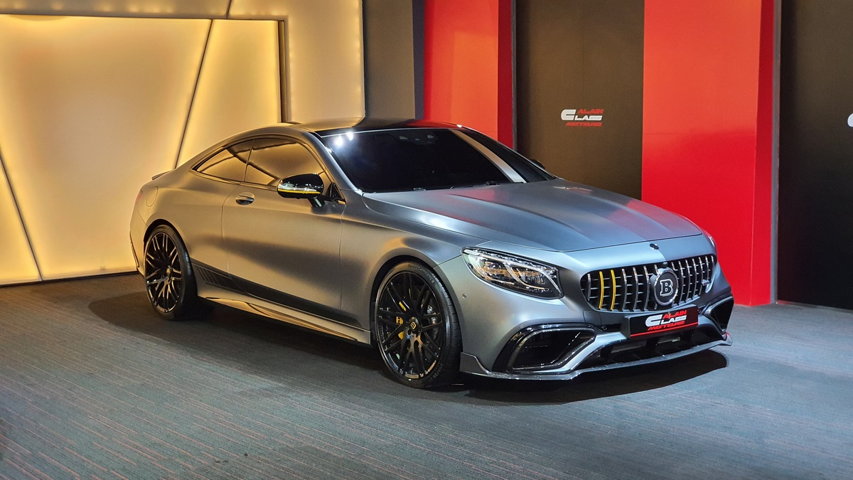 Mercedes-Benz S63 Coupe Brabus 700