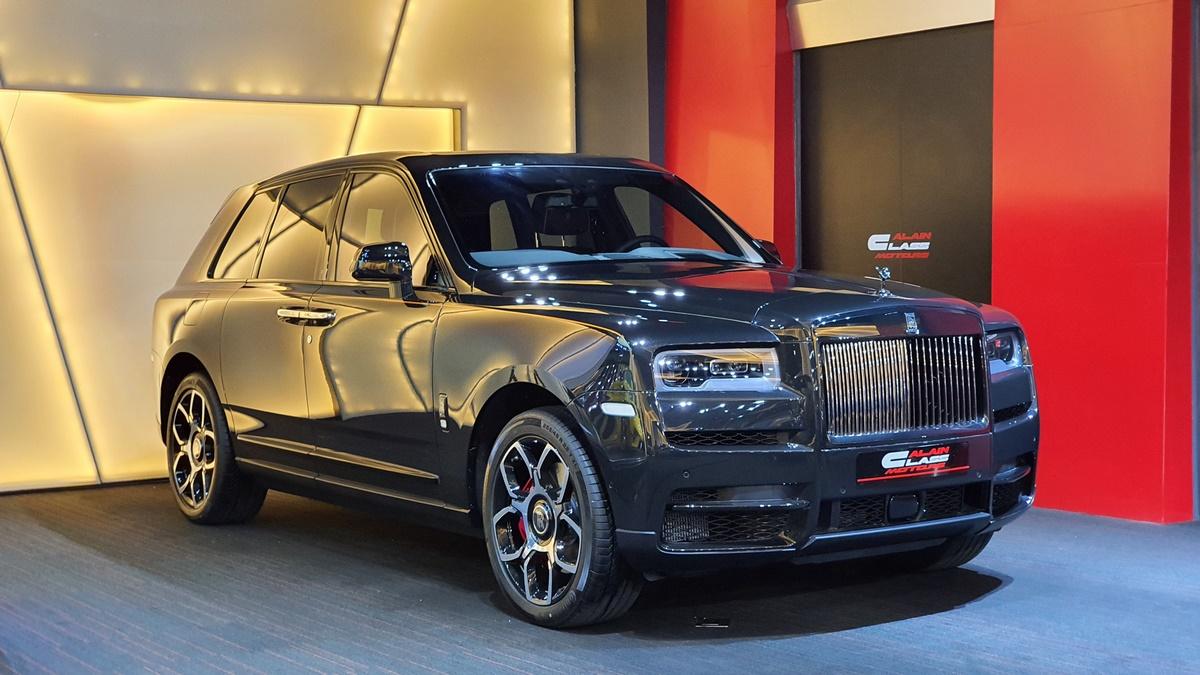 Alain Class Motors Rolls Royce Cullinan Black Badge