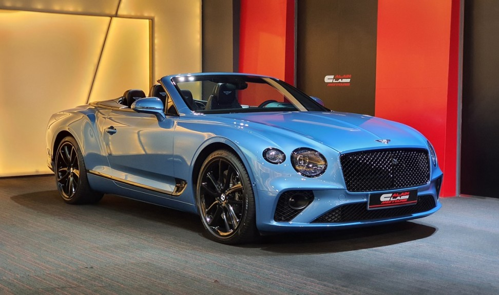 Bentley Continental GTC W12 Mulliner