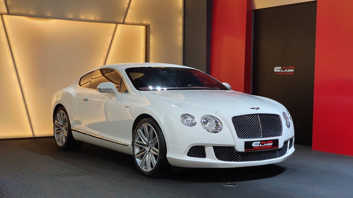 Bentley Continental GT Speed W12