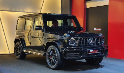 Mercedes-Benz G63 AMG Night Package