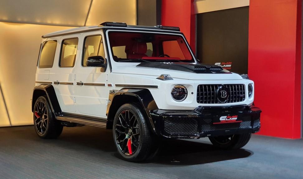 Mercedes-Benz G63 Brabus Widestar